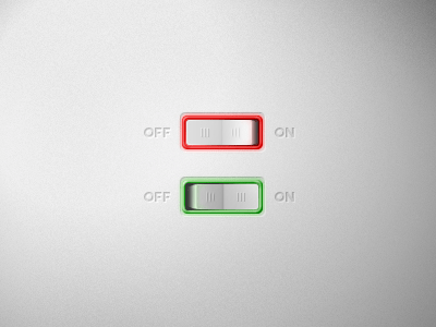 Free PSD On-Off Switch Button