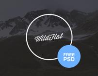 Free Website Template PSD