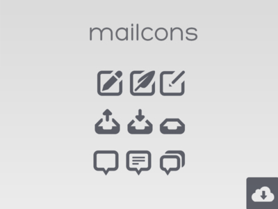 Mailcons For Mail or Message