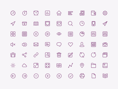 PSD-Icon Set For UI Design