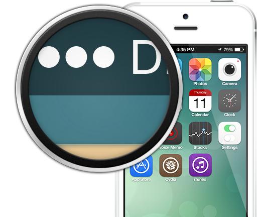 iOS 7 Signal Indicators (Signal Dots)