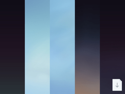 iOS 7 iPhone Backgrounds PSD