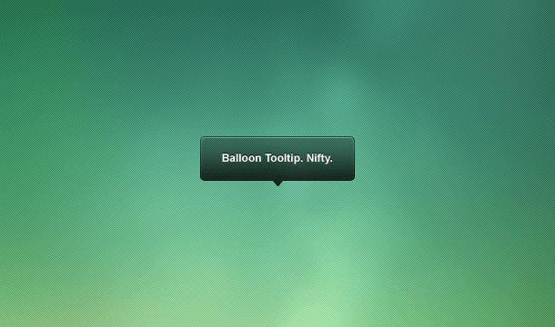 iOS APP Tooltip Balloon PSD