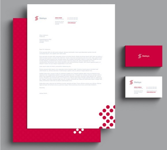 PSD Template Letterhead,Business Cards / Branding & Stationary Mockup