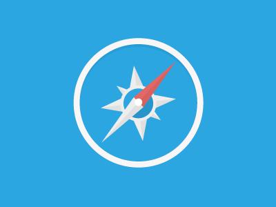 Freebie PSD Of Safari Logo