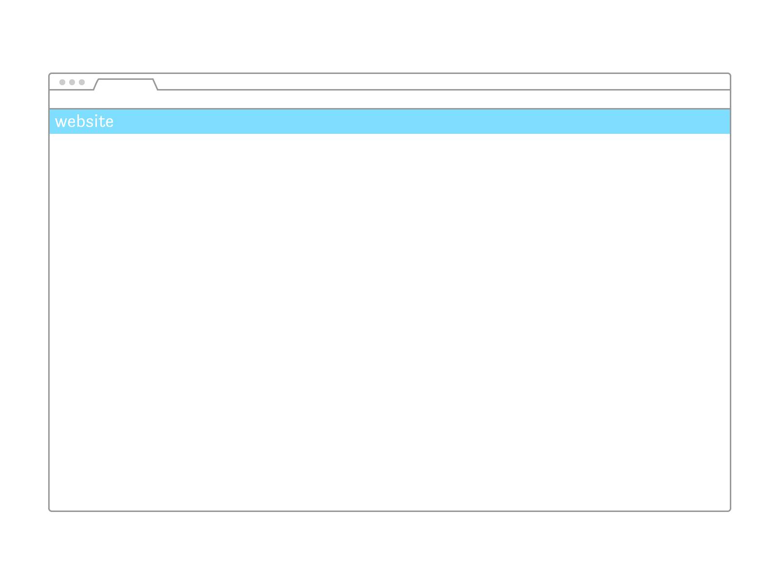 Web Wireframes Templates illustrator