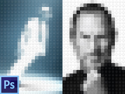 Interesting Freebie Legolize yourself PSD