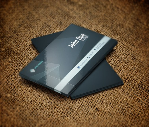Free Business Card Template PSD For Print 1