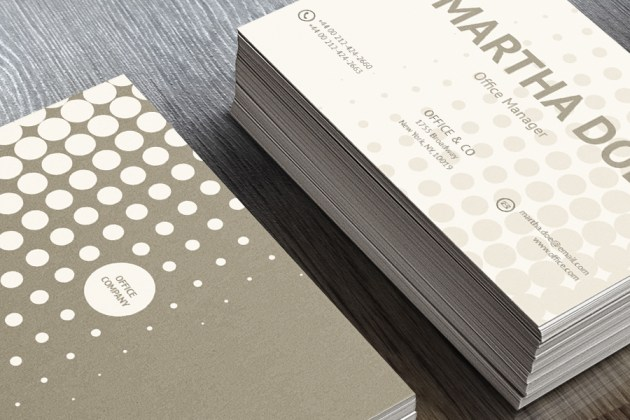 Free Business Card Template PSD For Print 10