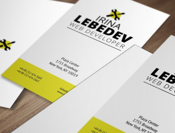 Free Business Card Template PSD For Print -9
