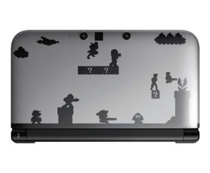 3DS 3DS XL Sticker Design