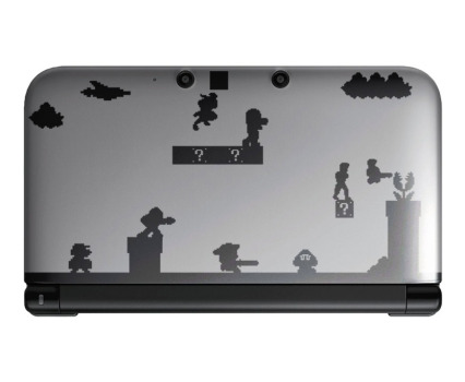3DS 3DS XL Sticker Design