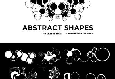 Abstract Shapes Vector (Illustrator file)