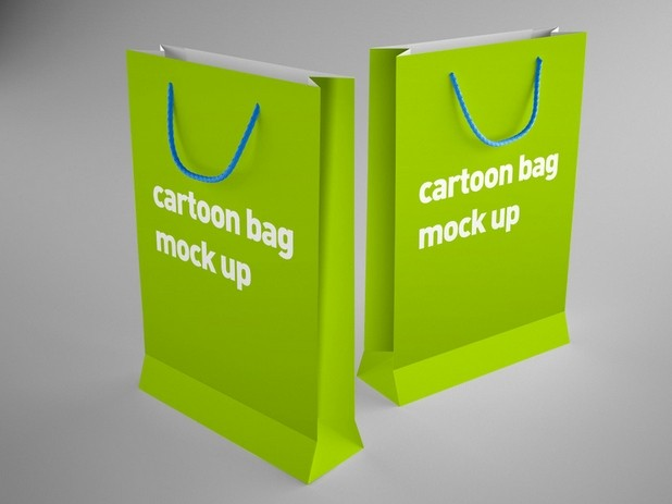 Bag mock up PSD