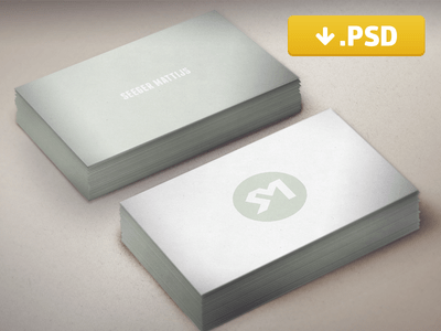 Business Card PSD Mockup Freebie