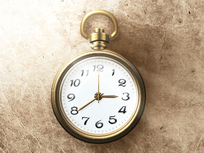 Clock Icon Free PSD Download