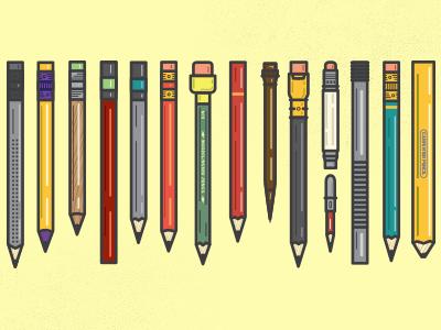 Free Pencil Vectors illustration