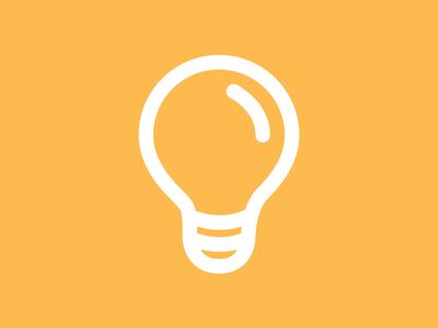 Light Bulb Idea Lamp PSD File Download