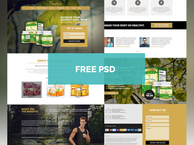 Produce Template – Product Landing Page