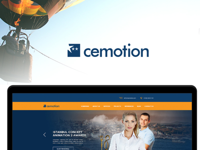 Free Creative Agency Web Template PSD