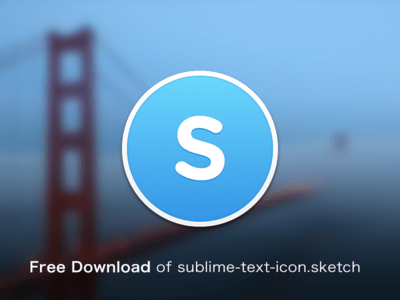 Free Download of Sublime Text icon