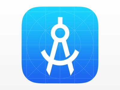 iOS 8 App Icon Template PSD