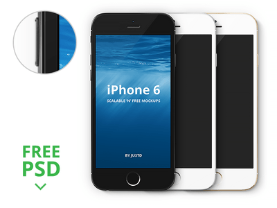 iPhone 6 – Scalable Vector Mockups