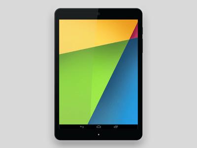 Free Nexus 9 Tablet PSD