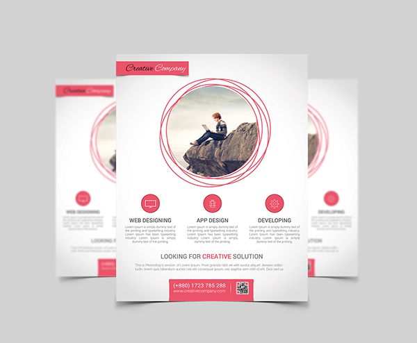 Modern Agency Flyer Poster ad Templates 1