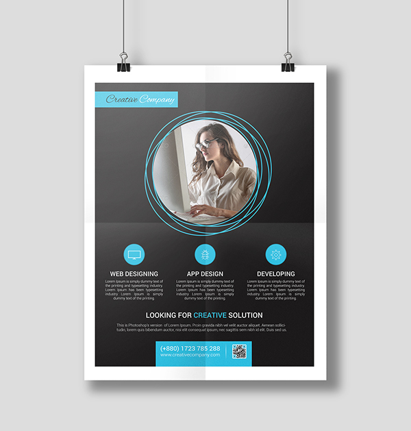 Modern Agency Flyer Poster ad Templates 5