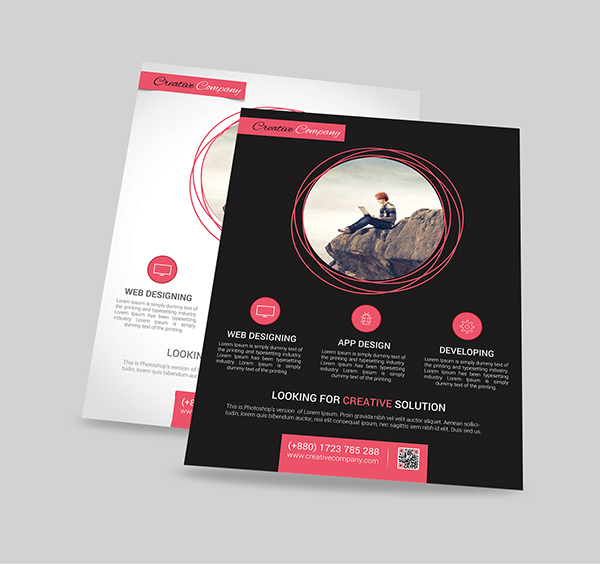 Modern Agency Flyer Poster ad Templates 6