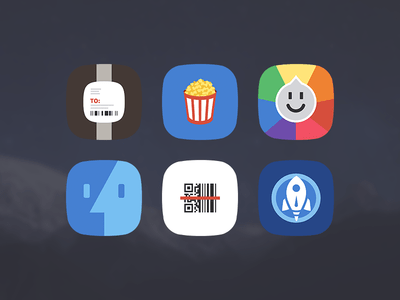 60 Flat Icons For iOS 8