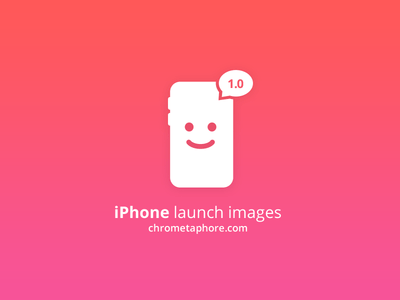 Free PSD Template: Ios iPhone Launch Images