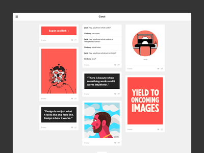 Responsive Grid Tumblr Theme Template