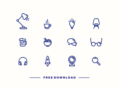 Free Vector 12 icons Download