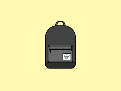 Herschel Backpack Free PSD