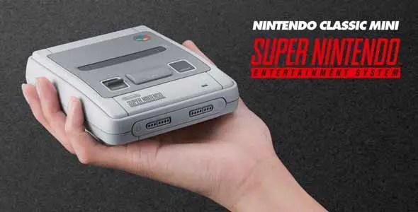 Nintendo kündigt neue Konsole Super Nintendo Classic an