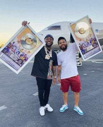 Davido celebrates 1 billion album streams with Chris Brown, Young Thug