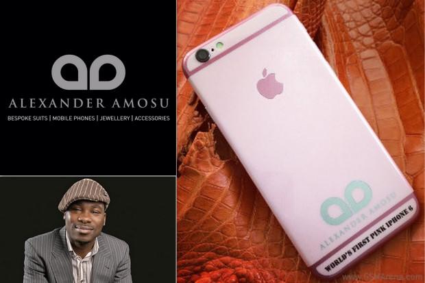 หวานไป๊!!! ไอโฟน6 สีชมพู
