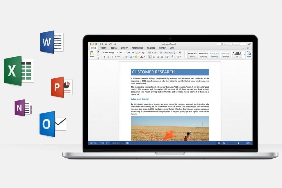 Office 2016 for Mac ปล่อยให้ทดสอบแล้ว