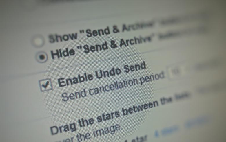 ส่งเมลผิด...รู้ตัวเร็วยกเลิกได้แล้วด้วย Undo Send