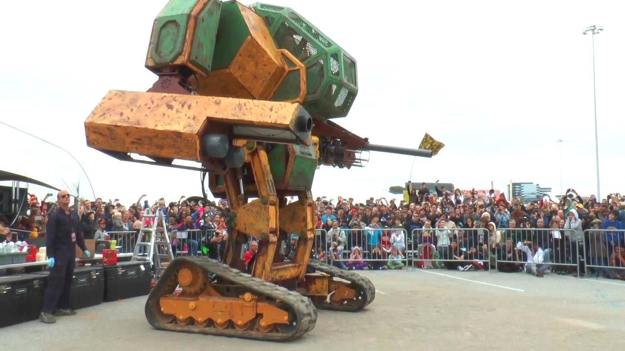 MegaBots หาทุนอัพเกรดหุ่นยนต์สู้ศึกญี่ปุ่น