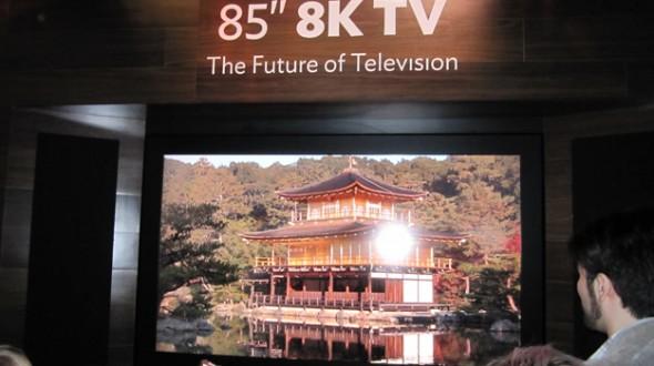 ทีวี 8K ขายจริงปีหน้า...ราคาแพงเว่อร์
