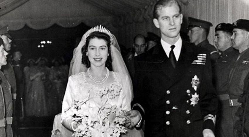She was married in 1947