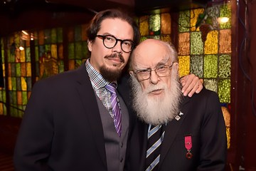 James Randi and Deyvi Orangel Pena Arteaga (aka Jose Alvarez)