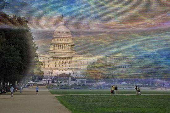 Washington D.C. with visual wi-fi