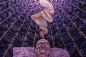 'Dying', by Alex Grey