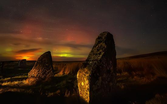 The Achavanich Stones,Caithness, by Stewart Watt