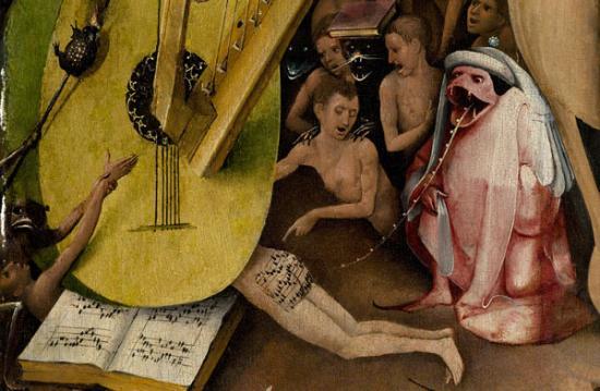 Bosch's Music on the Bum