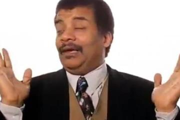 Stoned Neil deGrasse Tyson